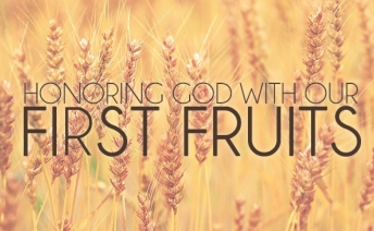 First Fruits Sunday