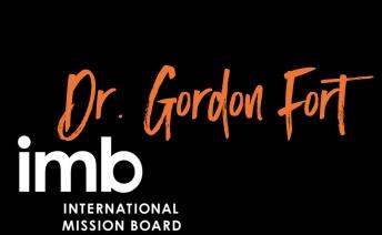 Dr. Gordon Fort in Worship